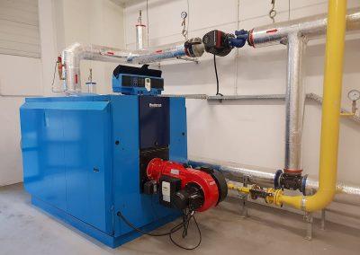Serwis kotłowni gazowej i rurociągów ciepła technologicznego